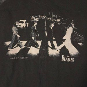 BEATLES ABBEY ROAD Music Graphic Tee 2XL PLUS SIZE